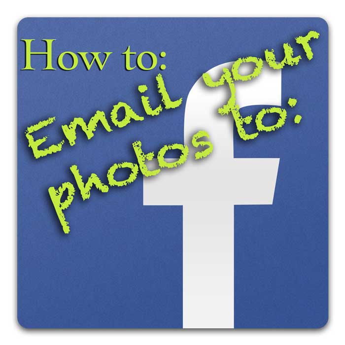 how to email photos to facebook
