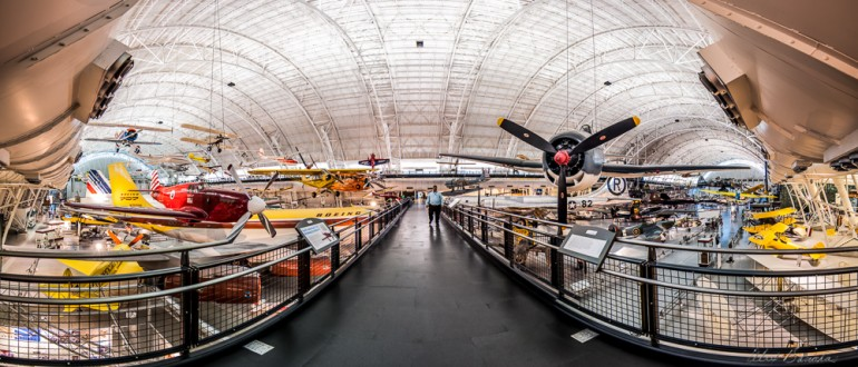 Udvar-Hazy Center Pano