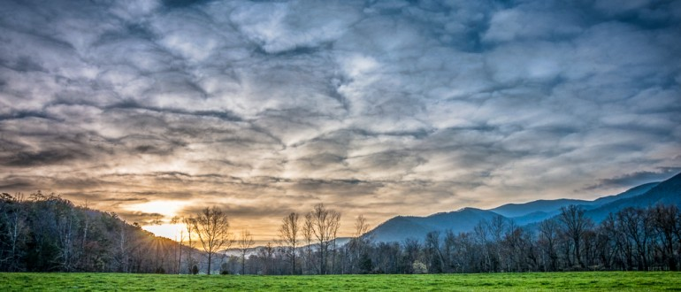 Cade's Cove Sunrise